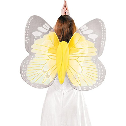 Adult Yellow Butterfly Costume Wings