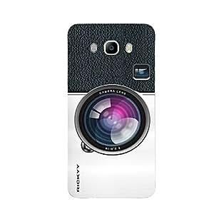 RICKYY _J7_1089 Printed Matte designer Camera Lens case for Samsung J7