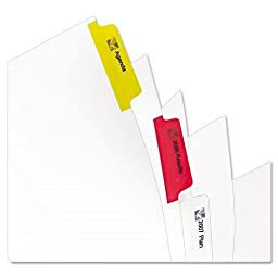 AVE11418 - Avery Index Maker Punched Clear Label Tab Divider