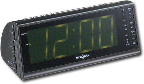 clock radio online insignia am fm alarm clock radio. Black Bedroom Furniture Sets. Home Design Ideas