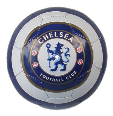 OFFICIAL CHELSEA F.C. ERUPTION BLUE & GOLD SIZE FIVE 32 PANEL FOOTBALL