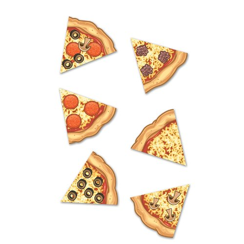 Mini Bulletin Board Accents Pizza Slices - 1