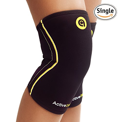 ActiveGear Sport Neoprene Compression Knee Sleeve (XL)