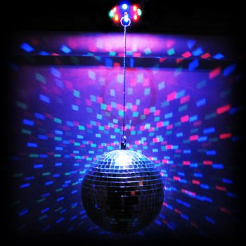 Amazing Color Changing Led Mirror Disco Ball #67221