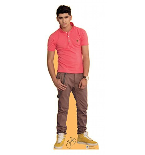 Zayn Malik - One Direction - Advanced Graphics Life Size Cardboard Standup by Advanced Graphics (One Direction Stand Up Cardboard compare prices)