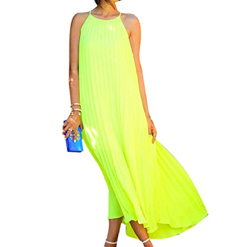 Change(Tm) Summer Chiffon Boho Beach Dress Long Maxi