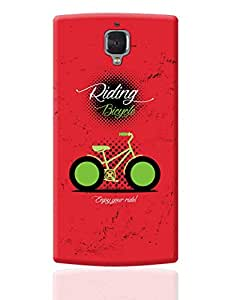 PosterGuy OnePlus 3 Case Cover - Bicycle | Designed by: DesignerChennai