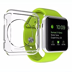 Usams Primary Series TPU Case Soft Clear Cover for Apple Watch 38mm - White