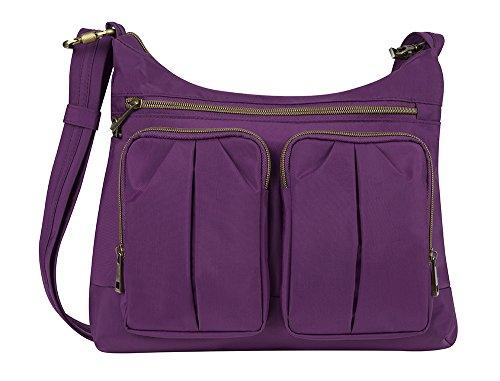 travelon-damen-hobo-bags-violett-mehrfarbig-42947-150