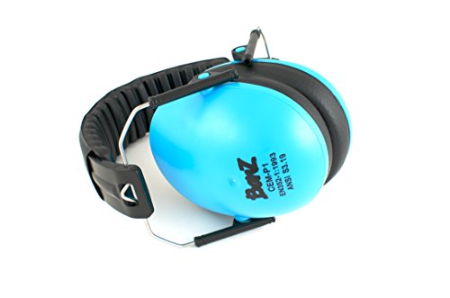 Baby Banz Hearing Protector Earmuffs, Blue