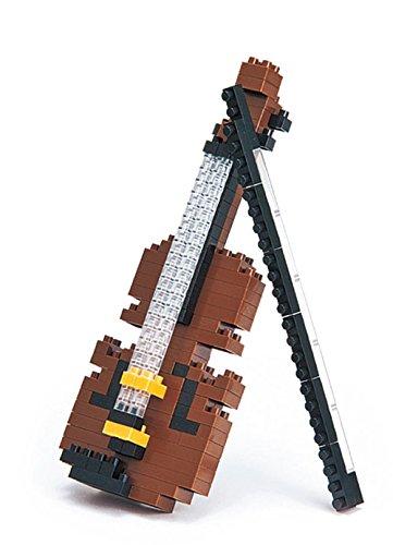 Nanoblock-3D-Puzzle-Geige-Schnes-Geschenk-fr-Musiker