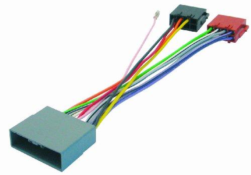 4/739 Kabel für Autoradio für Mitsubishi/Citroën/Honda/Peugeot, Mehrfarbig