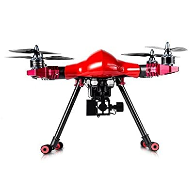 FLYPRO PX400 PRO 1 Professional Drone Quadcopter with Indoors Vision Positioning System for GoPro 3/4, Red