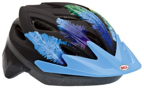 Best Bell Blade Youth Bike Helmet (Feathers/Blue) With Low Price.
