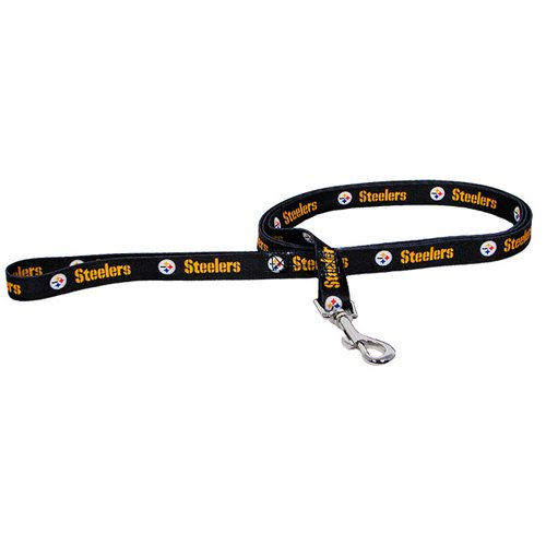 Hunter MFG Pittsburgh Steelers Dog Leash at SteelerMania