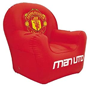 Manchester United Inflatable Armchair Amazon Co Uk Toys