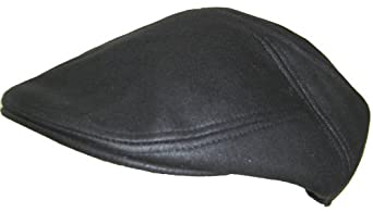 Cappello Faux Suede Ivy Black, L / XL = (7 3/8 - 7 5/8)