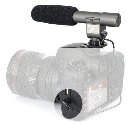 Sg-108 Shotgun Dv Stereo Microphone For Dv, Dslr Canon 5D Mkii, 600D, 60D, T3I