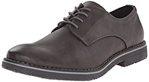 Kenneth Cole Unlisted Men's Re-Bate Oxford, Dark Grey, 11.5 M US