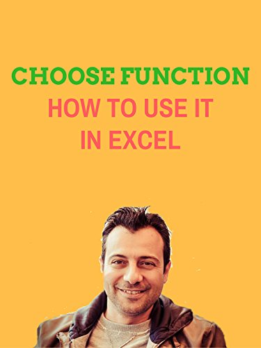 How to use Excel CHOOSE Function in Dashboards