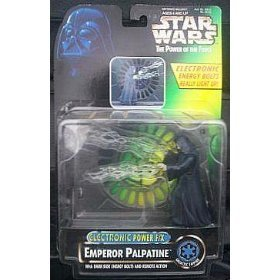 Star Wars - Emperor Palpatine - POF - Electronic Power F/X - Dark Side Energy Bolts, Remote Action - Mint - Collectible - (PR)
