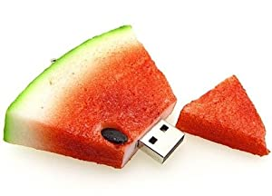 Watermelon USB Flash Drive - Data Storage Device - 4GB