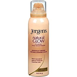 Product Image Jergens Natural Glow Foaming Moisturizer - 5 oz. (Fair/Medium)