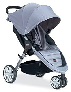 Britax 2013 B-Agile Stroller, Granite (Discontinued by Manufacturer)