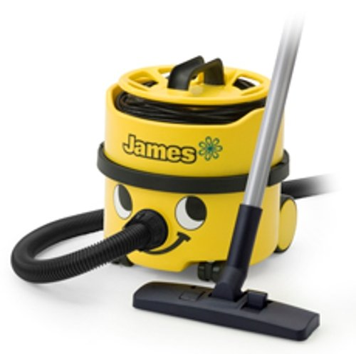 """Numatic Hi-Power Canister Vacuum Cleaner With Accessory Tool Kit, Jvp180-1, """"James"""" (Color: Yellow)"""