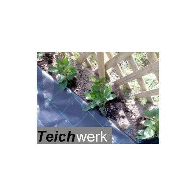 TEICHWERK Unkrautschutz 10 x 5 m Unkrautfolie | Bodengewebe bestellen
