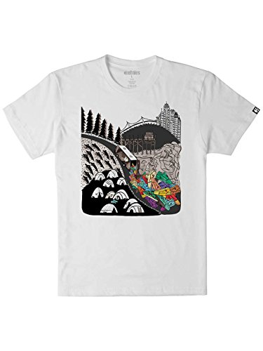 Etnies -  T-shirt - Uomo bianco XL