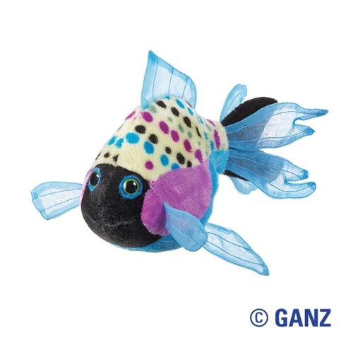 Lil'Kinz Mini Plush Stuffed Animal Polka Back Fish