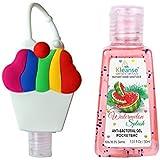 30ml Hand Sanitizer With Rainbow Cupcake Holder Kleanse Watermelon Splash Instant Hand Santizer-30ml Kills 99.9%...