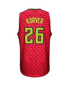 Men's Kyle Korver #26 Basketball Jersey Alternate Jersey - Red