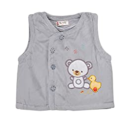 FireLionPlus Unisex Baby Vest Waistcoat Clothing Tops 6-9 Months Grey