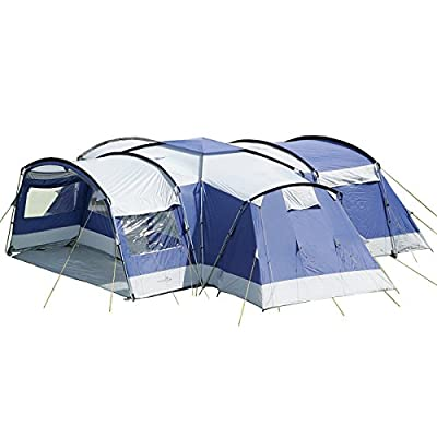 Skandika Nimbus 12 Man Berth XXL Group Tent from Skandika