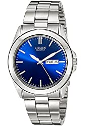 Citizen Men's BF0580-57L Silver-Tone Stainless Steel Watch