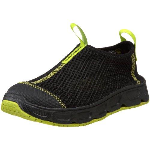 Salomon Schuh Kinder RX MOC , schwarz/grün, 36