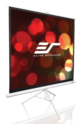 Elite Screens T99NWS1 Tripod Series Portable Projection Screen (99