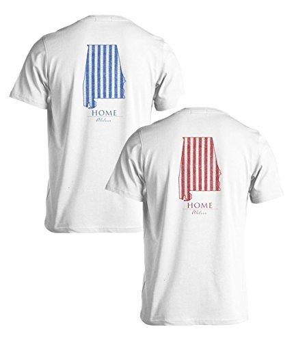 Seersucker Series - Alabama - Comfort Colors - Medium - T-Shirt front-888441