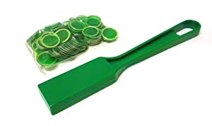 Green Magnetic Wand & 100 Piece Magnetic Bingo Chip Markers