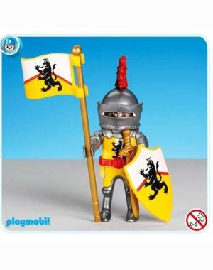 Playmobil Yellow Lion Knight Leader 7534