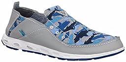 Columbia Men\'s Bahama Vent PFG Gray Boat Shoes 13 M