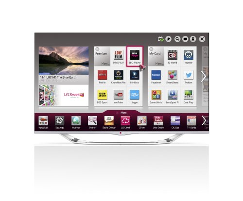 LG 47LA740V 47-inch Widescreen 1080p Full HD Cinema 3D Smart LED TV with Cinema Screen/Built-In Wi-Fi/Freeview HD (New for 2013)