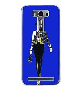 Girl on Ramp 2D Hard Polycarbonate Designer Back Case Cover for Asus Zenfone 2 Laser ZE500KL (5 INCHES)