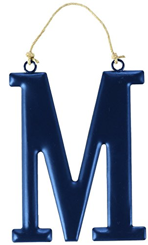 Mud Pie Tin Initial Wall Hanging for Boy, M, Large - 1