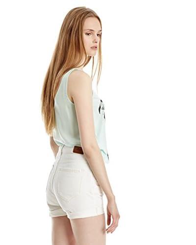 Mango Shorts Niza [Bianco]