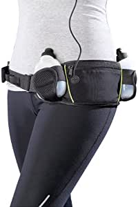 Pearl Sports Ceinture porte-bidon avec 2 bidons et 1 poche ventrale
