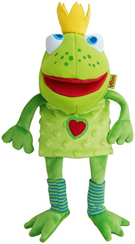 Haba 301263 Glove Puppet Frog King