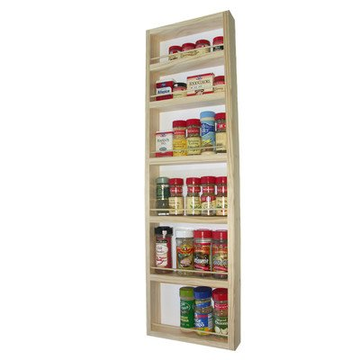On the wall spice rack size 38 spice racks for kitchen - Wall mounted spice racks for kitchen ...